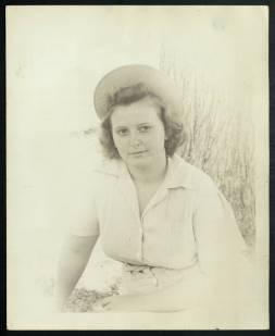 Alice Starr May, circa 1944. The University of North Carolina at Greensboro, University Libraries, PO Box 26170, Greensboro NC 27402-6170, 336.334.5304 -- http://library.uncg.edu/
